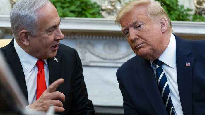 Watch: Trump and Netanyahu unveil Middle East peace plan