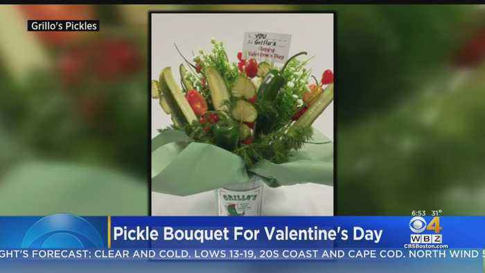 Pickle Bouquet For Valentine's Day