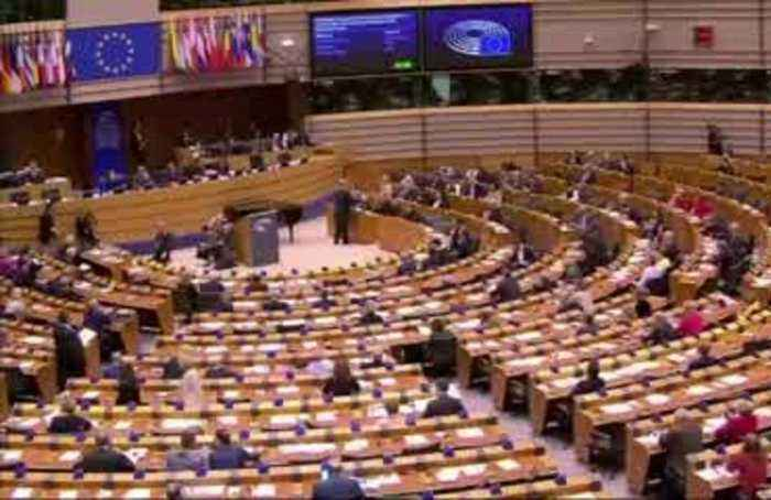 European Parliament pass withdrawal deal in Brussels