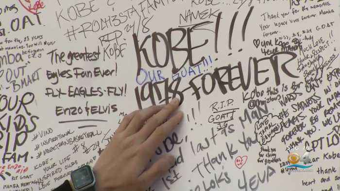 World Still Trying To Process Death Of NBA Legend Kobe Bryant