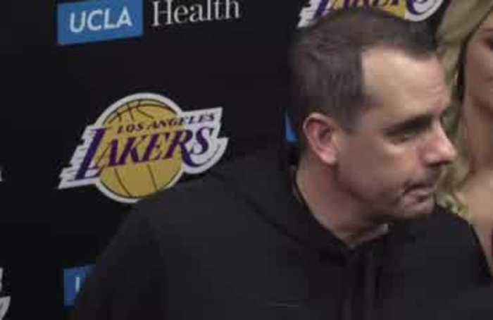 Lakers coach describes 'deeply saddening time' since Kobe's death