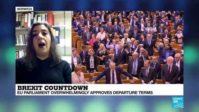 Brexit countdown: EU Parliament overwhelmingly approves departure terms