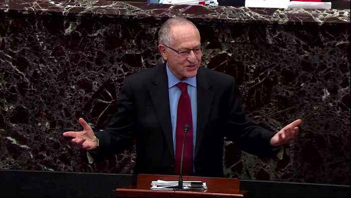 'Abuse of power is not impeachable': Dershowitz