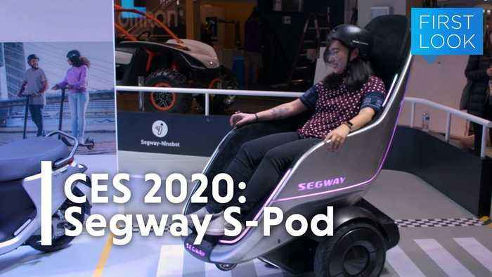 CES 2020: Segway's S-Pod Feels Like Zooming Into the Future | Gizmodo