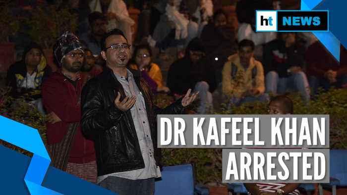 Gorakhpur doctor Kafeel Khan arrested in Mumbai over anti-CAA speech