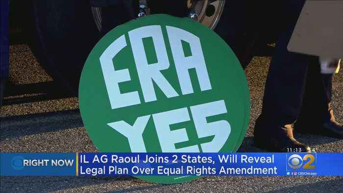 Illinois, 2 Other States Sue To Force Recognition Of Equal Rights Amendment