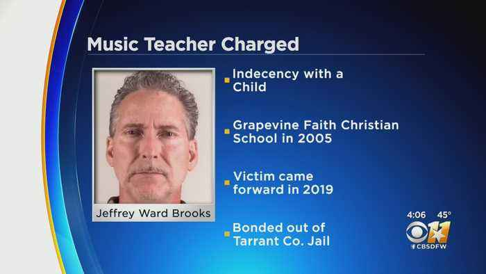 North Texas Music Teacher Arrested, Charged With Indecency With A Child