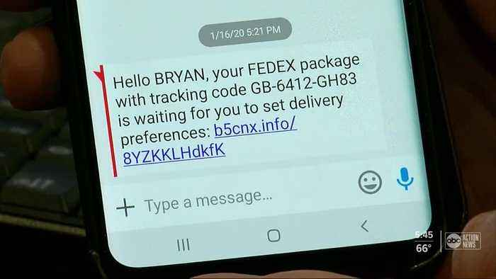 Beware of text messages claiming to be from FedEx, Amazon. It could be a scam