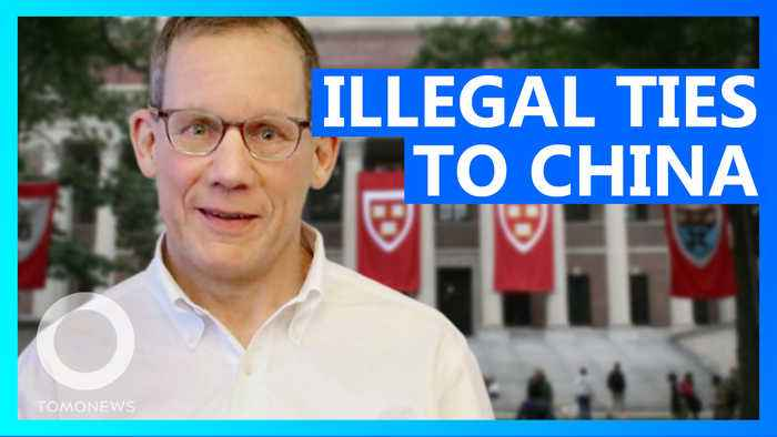 Harvard professor charged with hiding illegal ties to China