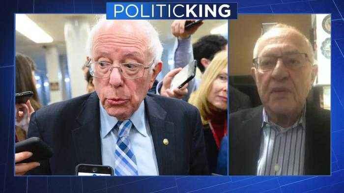 Alan Dershowitz slams Bernie Sanders; Urges Americans to vote against him