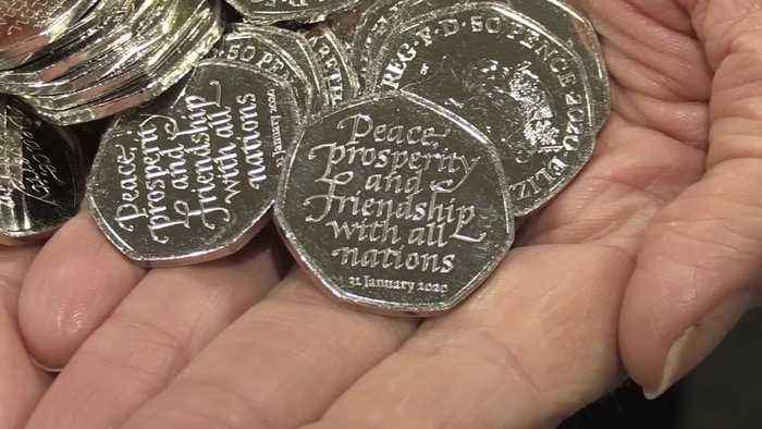 50p coins to mark Brexit Day
