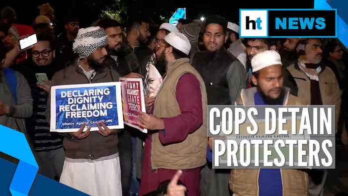 Jamia firing row: Protesters outside Delhi Police headquarters detained