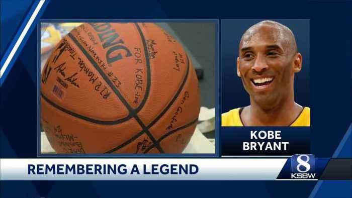 Central Coast Kobe Bryant fans honor the NBA legend