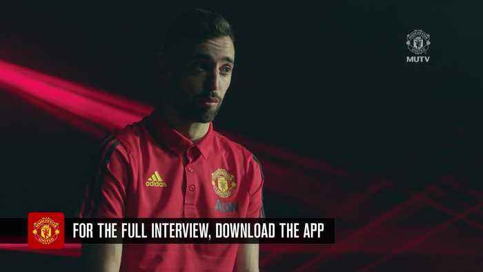 Bruno Fernandes: I want to follow in Cristiano Ronaldo's footsteps
