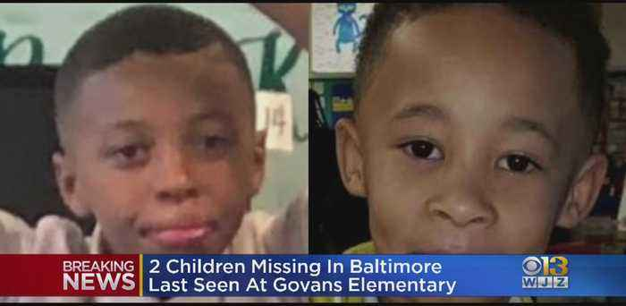 Baltimore Police Searching For Two Missing Foster Children
