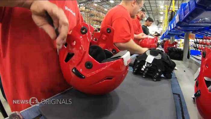 Buckeye Built: Riddell uses data, lab studies to create next generation of football helmets