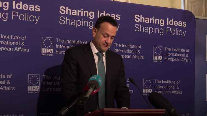 Leo Varadkar gives speech on future of British-Irish relations