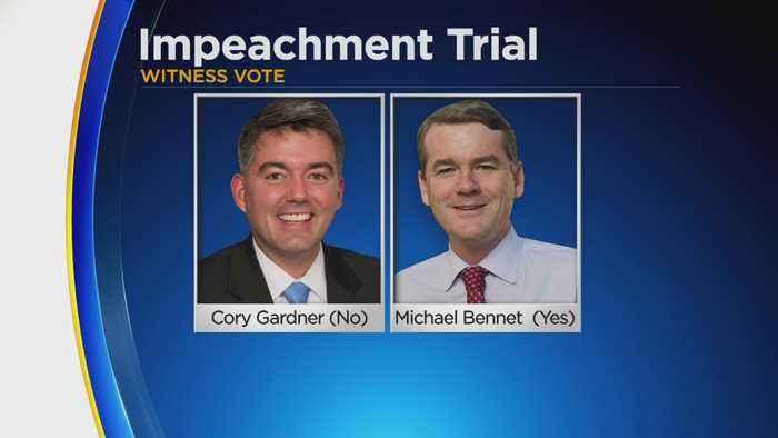 Colorado Senators Vote On Impeachment Trial Witnesses