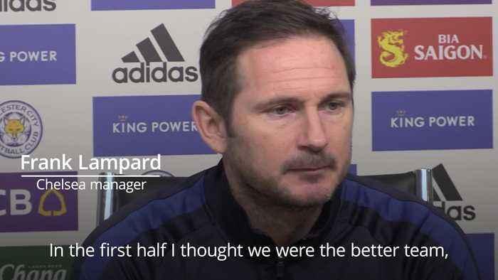 Frank Lampard: It was a pretty even game.