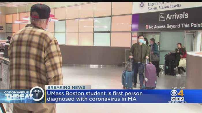 UMass Boston Student Tests Positive For First Case Of Coronavirus In Massachusetts