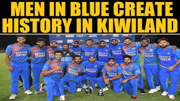 India vs New Zealand: Virat Kohli & Co complete T20I clean sweep in NZ | Oneindia News