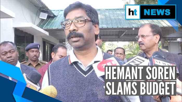 'This is Bharatiya Businessmen Party's budget': Jharkhand CM Hemant Soren