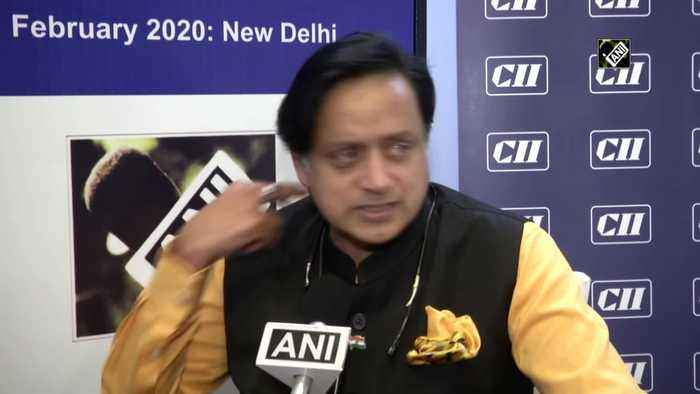 Tharoor terms Budget a 'sit down India budget' but gives a thumbs up to middle class tax cut