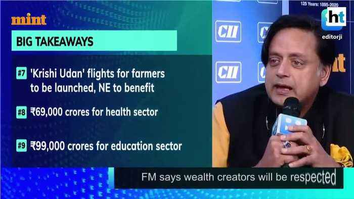 Gone from Stand Up India slogan to Sit Down India budget Shashi Tharoor