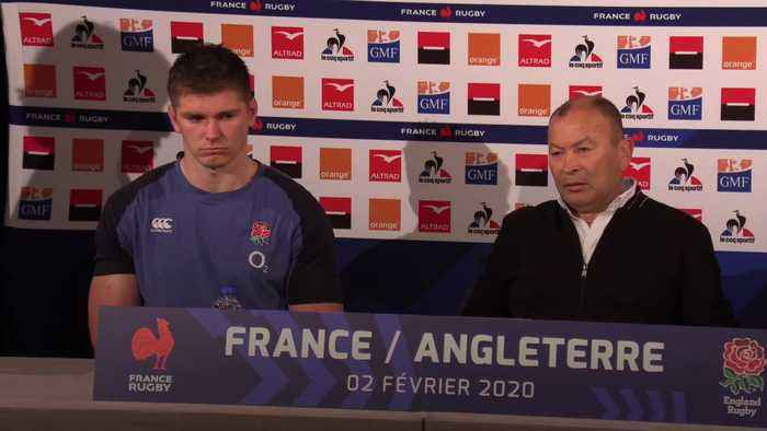 Eddie Jones: England's Six Nations defeat to France 'not a World Cup hangover'