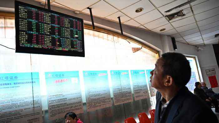 Chinese shares plunge as investors cut risks over virus outbreak