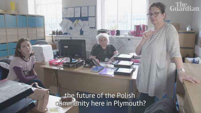 'Should we go home?': Despair and defiance for Poles post-Brexit