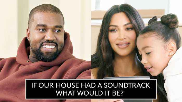 Kim And Kanye Quiz Each Other On Home Design, Family, and Life