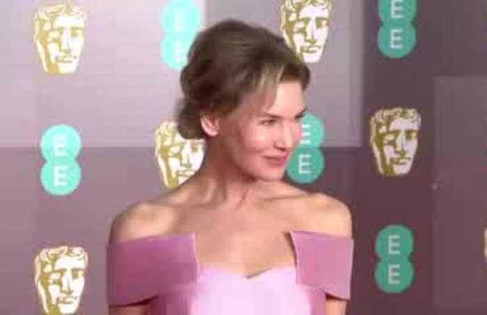 Black, pink and a bit of sparkle on BAFTA red carpet