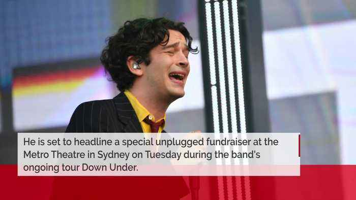 The 1975's Matty Healy playing solo show for bushfire relief