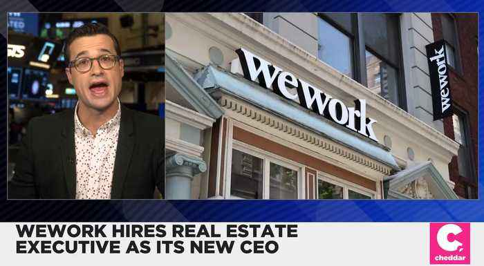 WeWork Hires Real Estate Executive as Its New CEO