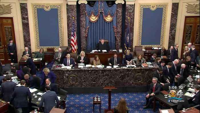 Senate Impeachment Trial Winding Down