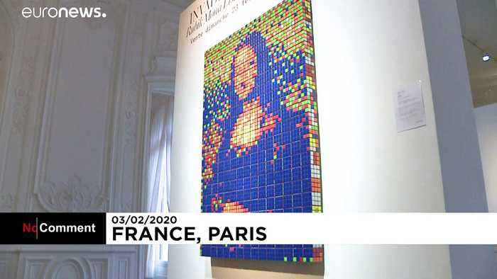 Da Vinci with a twist: 'Rubik's Mona Lisa' to go under the hammer in Paris