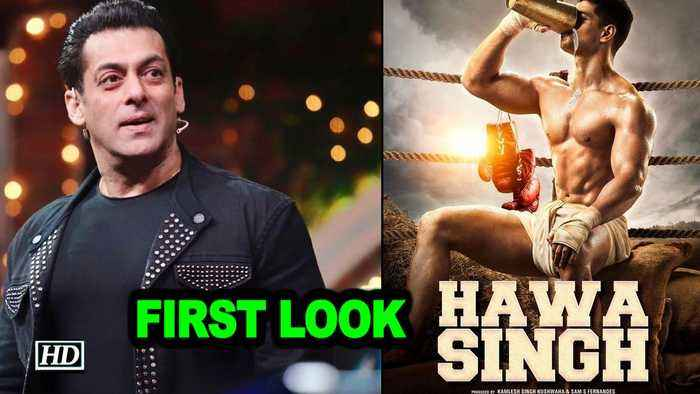 Salman Khan unveils the first look of 'Hawa Singh'