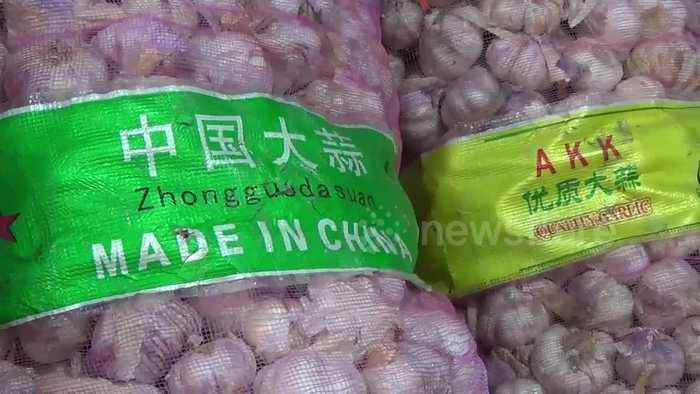 Coronavirus: Garlic price doubles in Indonesia