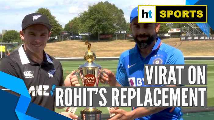 Ind vs NZ   'Unfortunate that Rohit can't be a part of the ODI series': Virat Kohli