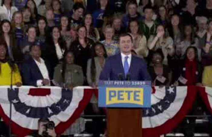 'Iowa, you have shocked the nation' -Buttigieg
