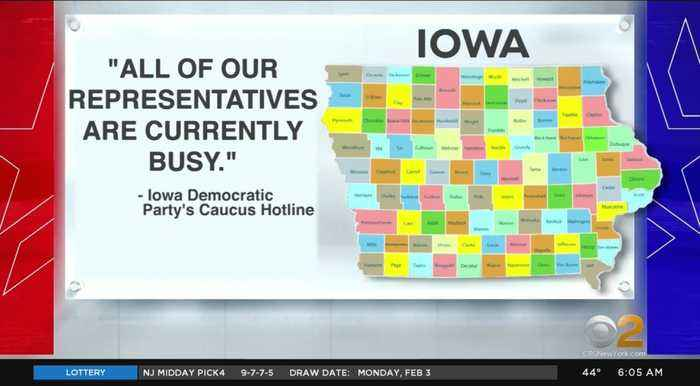 Chaos On Iowa Caucus Night