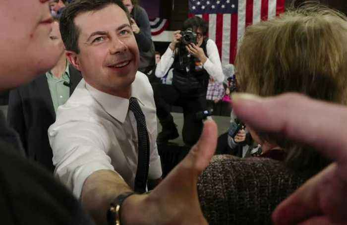 Buttigieg leads, Biden lags in first Iowa results