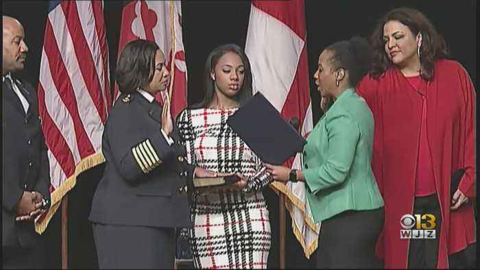 Tiffany Green Becomes First Female Fire Chief In Prince George's County Fire Department