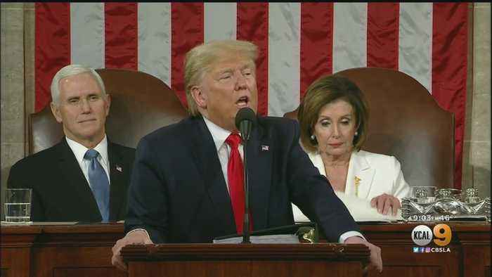 Trump Stokes Democrats' Fury, Ignores Impeachment At State Of The Union