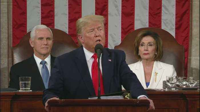 Bitter Divide Of Congress On Display During State Of The Union