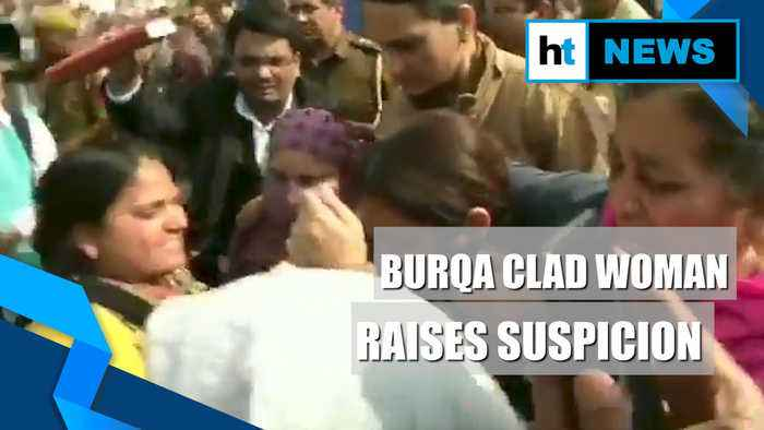 Shaheen Bagh ruckus: 'Suspicious' burqa clad woman filming stir removed by cops
