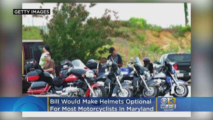 Bill Would Make Helmets Optional For Most Motorcyclists In Maryland