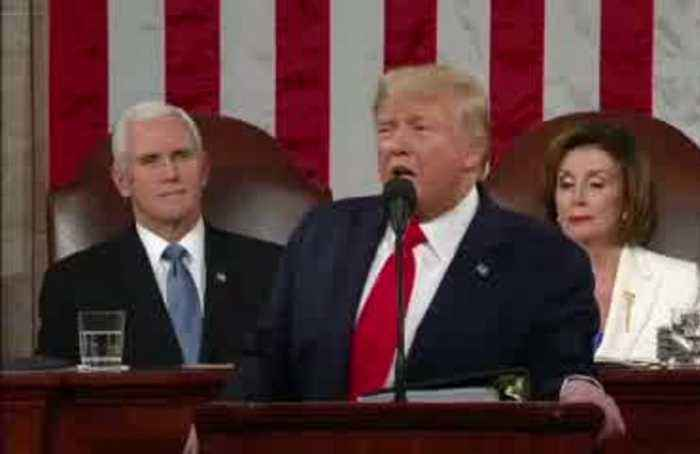 Trump-Pelosi feud erupts during SOTU speech