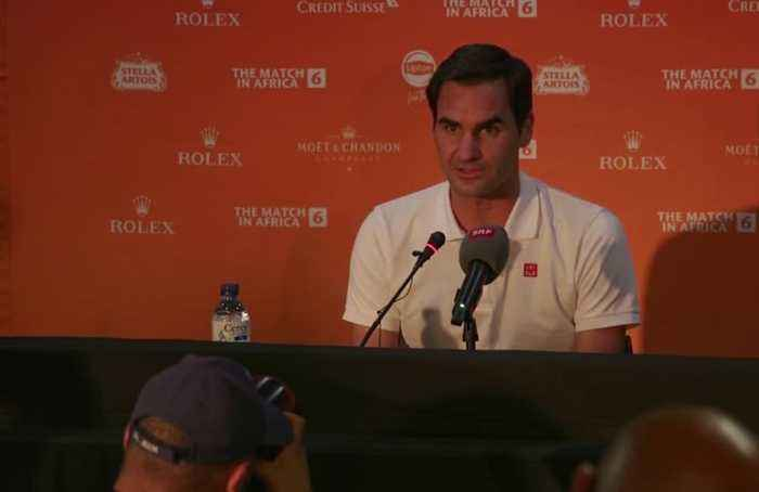 Federer excited to face Nadal in sixth Match for Africa